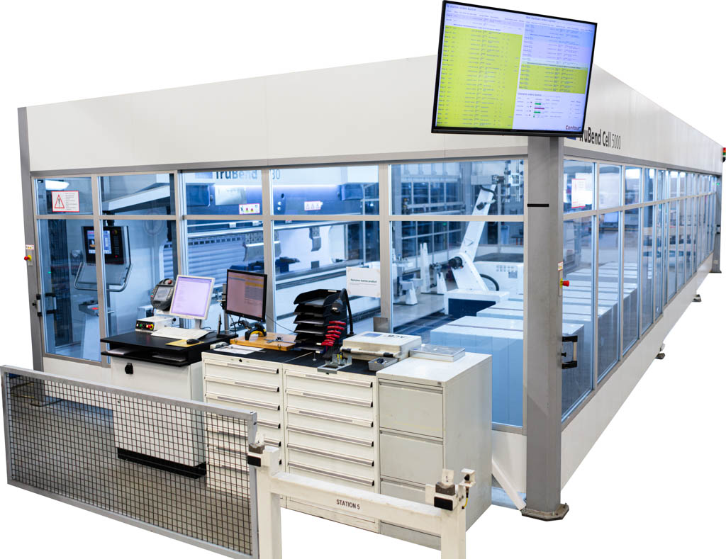 Shop floor control: Robotcell met digitaal Dashboard